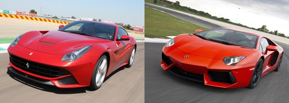Ferrari vs Lamborghini 3