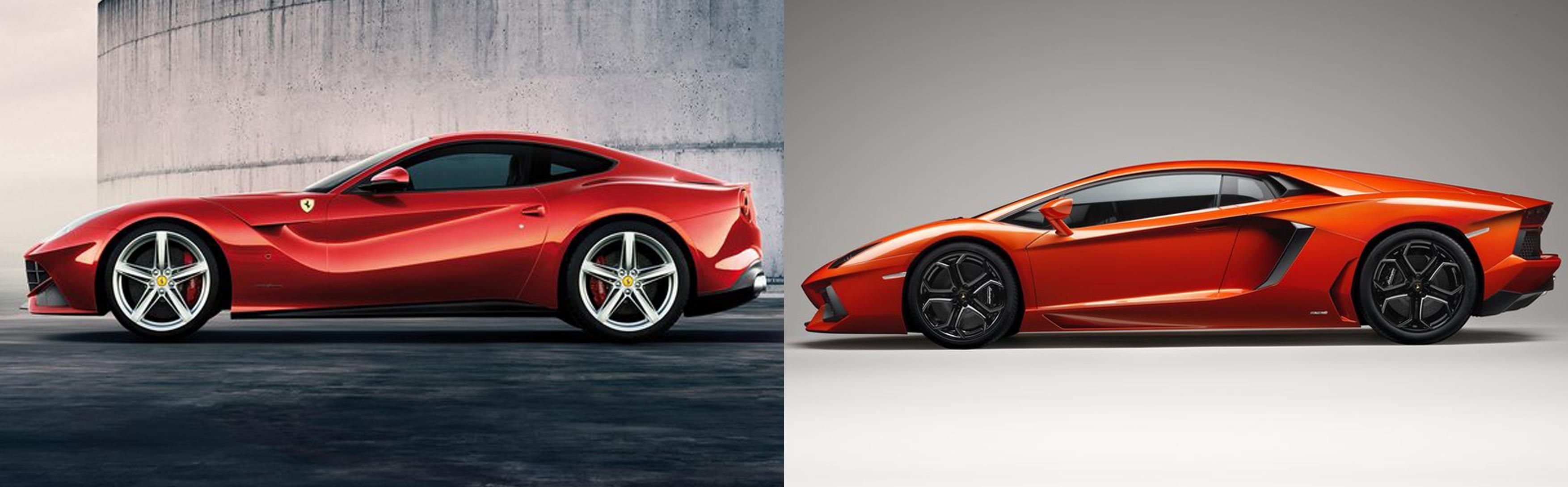 Ferrari F12 Berlinetta or Lamborghini Aventador? | Fiat ...