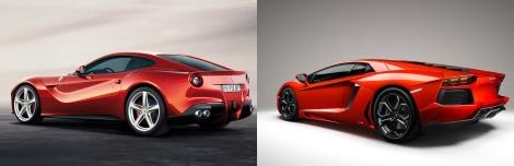 Ferrari vs Lamborghini 5