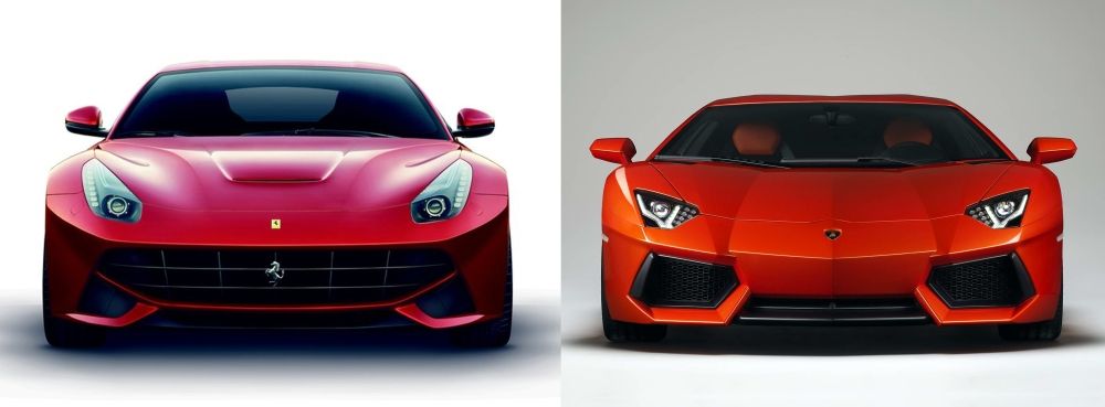 Ferrari vs Lamborghini 7