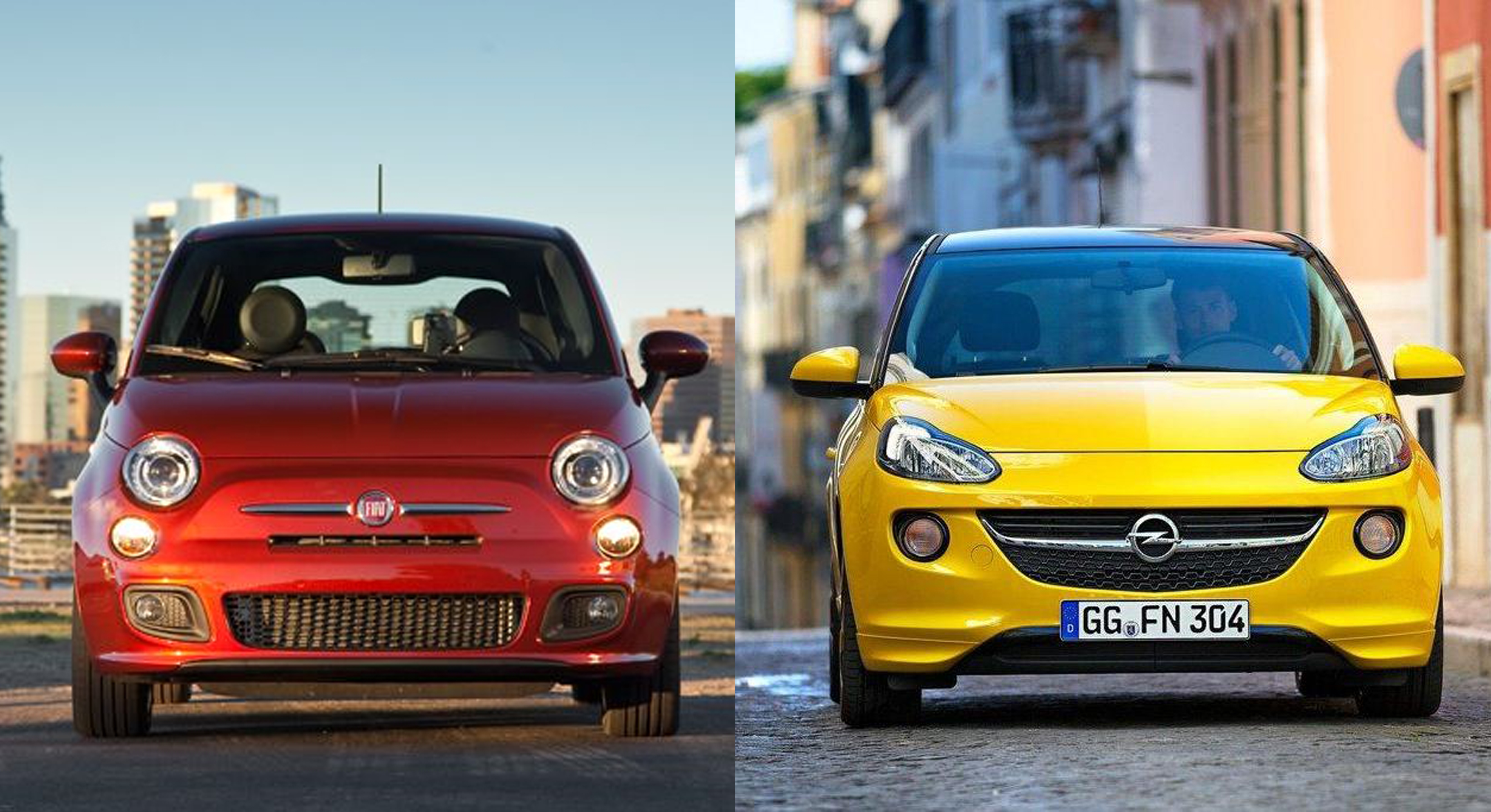 Fiat 500 Or Opel Adam Fiat Group S World