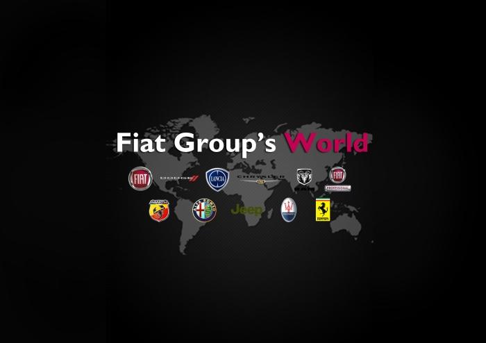 Fiat Group's World logo 2013 2