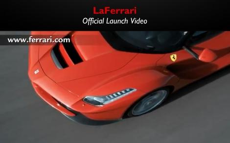 LaFerrari Official Launch Video