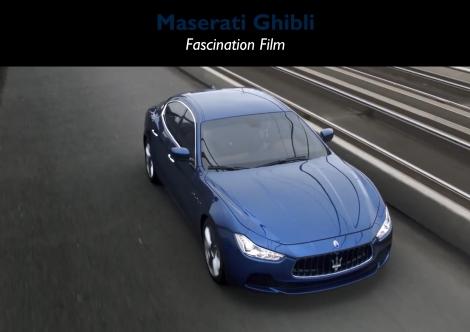 Maserati Ghibli fascination film
