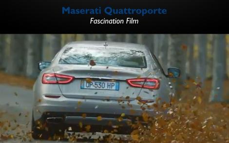 Maserati Quattroporte Fascination Film