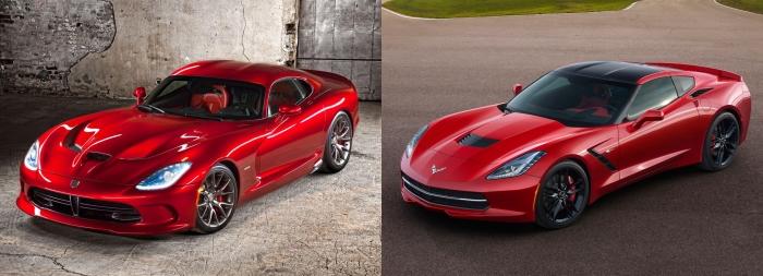 Viper vs Corvette 1