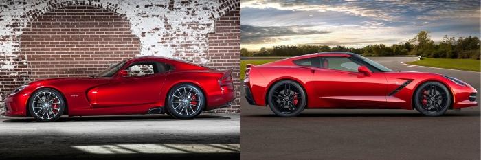 Viper vs Corvette 2