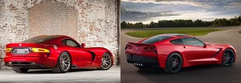 Viper vs Corvette 3