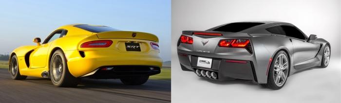 Viper vs Corvette 4