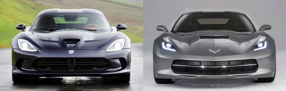 Viper vs Corvette 5