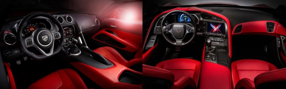 Viper vs Corvette 6