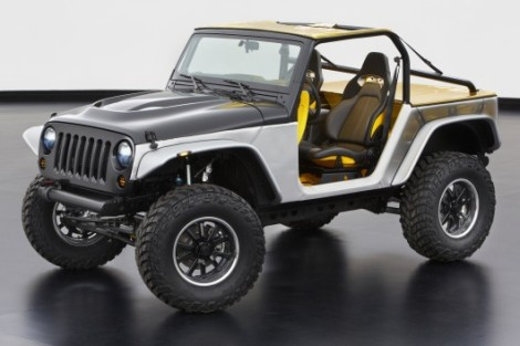 The Wrangler Stitch was one of the concepts presented by Jeep in the annual event the brand organizes with its fans. The brand should use the Wrangler's attributes to develop new products. Photo by: gizmag