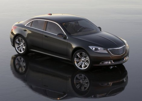 The Chrysler 200C EV is a concept presented by the brand in 2009, just before it was bought by Fiat. It was a big sedan with advanced technology and an electric engine. It is unclear wether the new 200 will include some of its features.