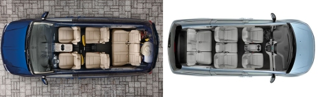 Dodge Caravan vs Honda Odyssey 7