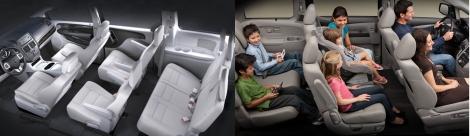 Dodge Caravan vs Honda Odyssey 8