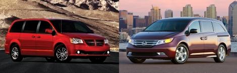 Dodge Caravan vs Honda Odyssey