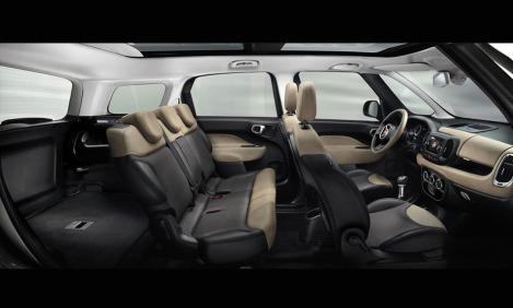Fiat 500L Living 5 seats