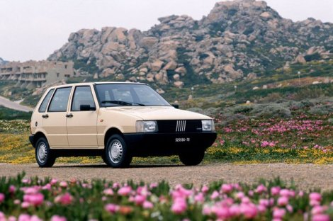 1990 Fiat Uno. Photo by netcarshow.com