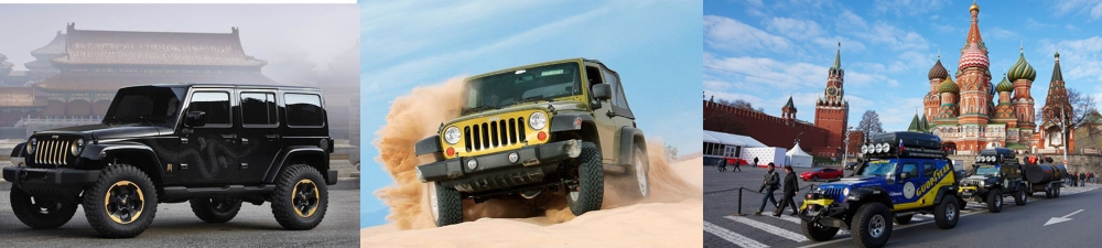 The Wrangler is a symbol among SUV in the whole world.