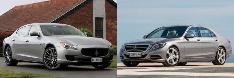 Maserati Quattroporte vs Mercedes S Class 3
