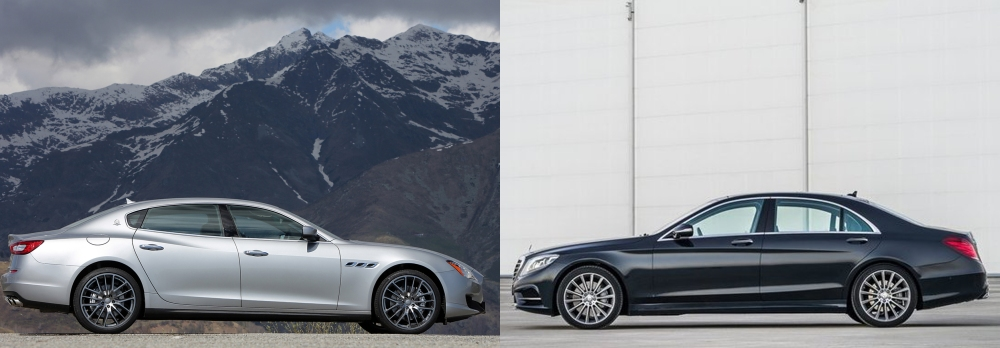 Maserati Quattroporte vs Mercedes S Class 4