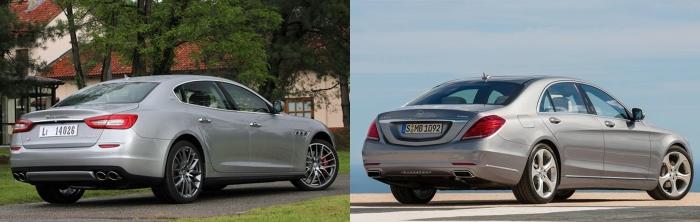 Maserati Quattroporte vs Mercedes S Class 5
