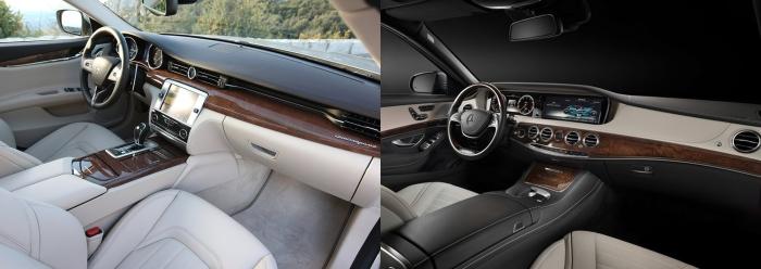 Maserati Quattroporte vs Mercedes S Class 8