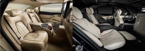 Maserati Quattroporte vs Mercedes S Class 9