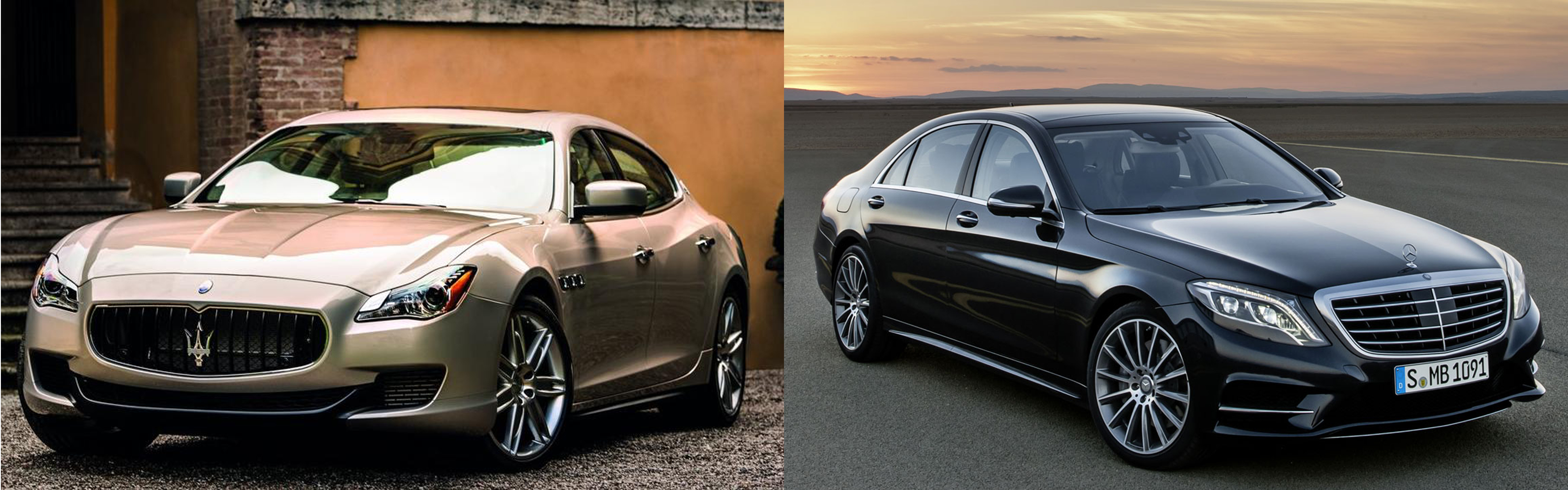 Maserati quattroporte or mercedes benz s class fiat for Mercedes benz v