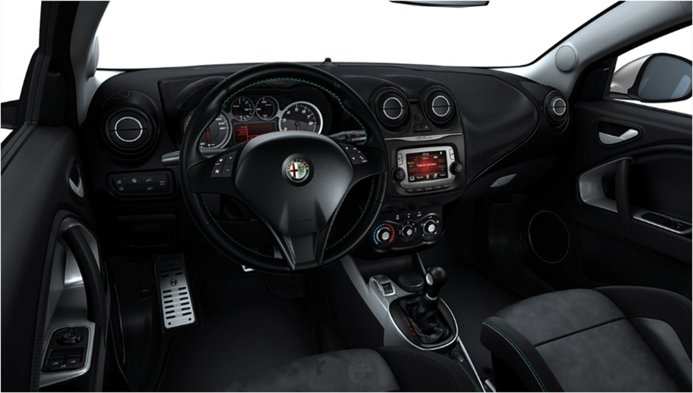 The tiny update includes a new infotainment system and new colours and materials. Image took from Car Configurator from www.alfaromeo.it