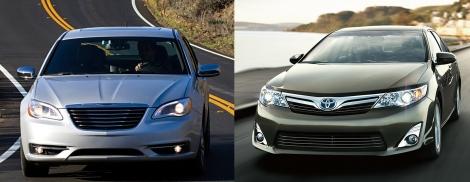 Chrysler 200 vs Toyota Camry 3