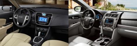 Chrysler 200 vs Toyota Camry 7
