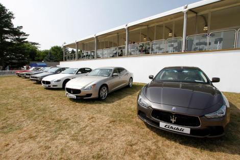 Maserati at Goodwood 2013 festival of speed.