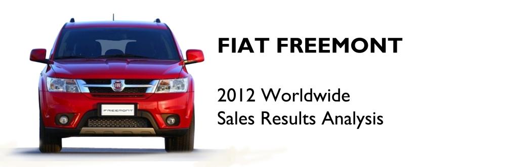 Fiat Freemont 2012 sales