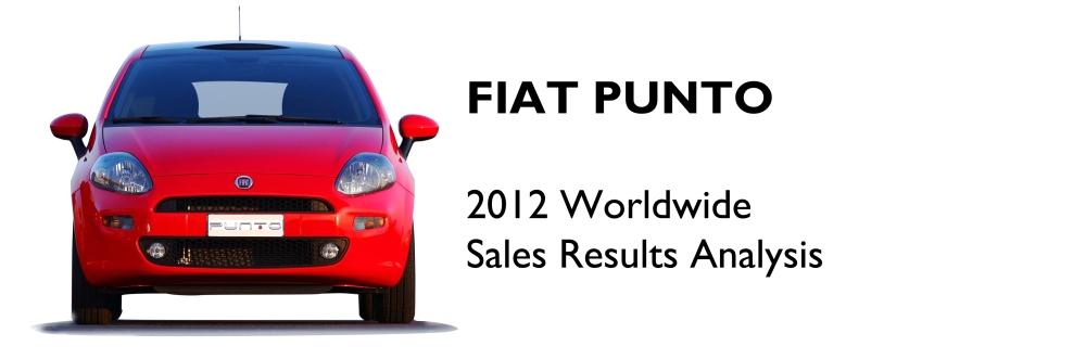 Fiat Punto 2012 sales analysis