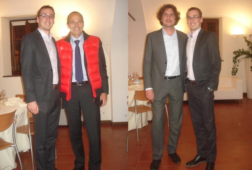 With Louis-Carl Vignon and Alessandro Maccolini.