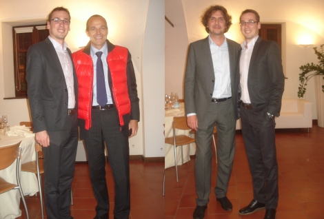 With Louis-Carl Vignon and Alessandro Maccolini.