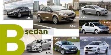 B sedan Europe 2013