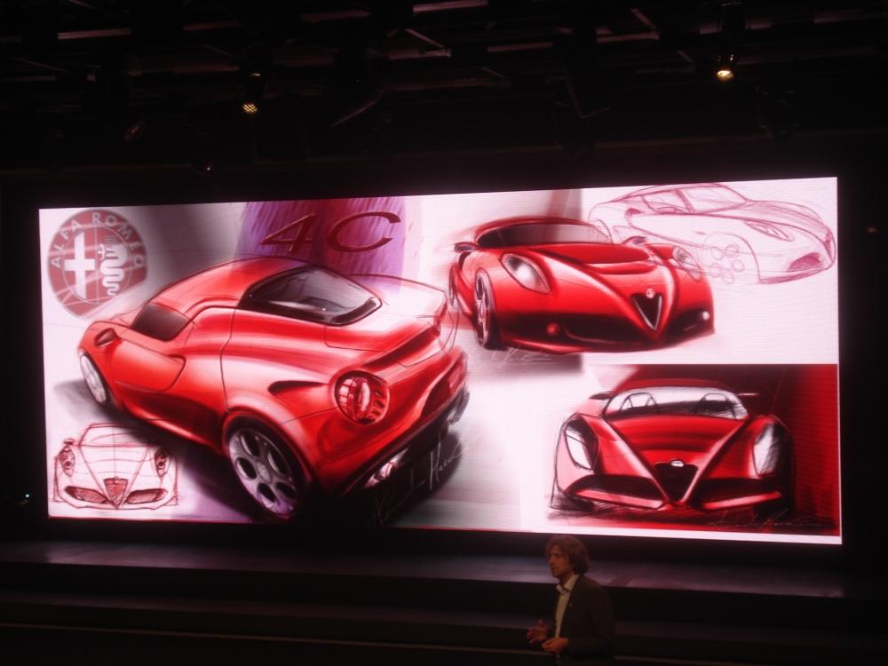 Alessandro Maccolini, Alfa Romeo chief design exterior.