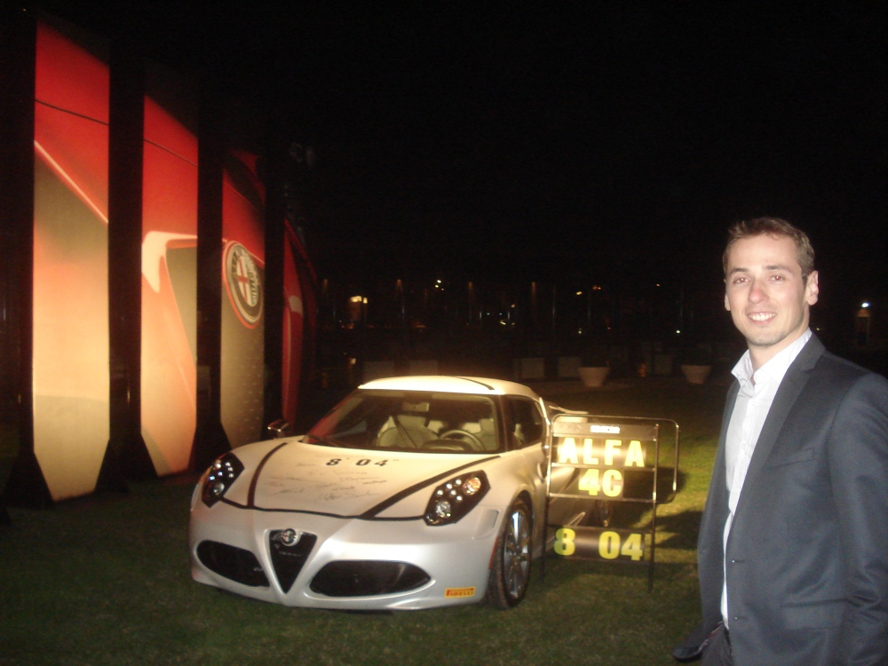 """Alfa Romeo 4C: """"From a  dream to a drive"""""""