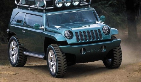 The Jeep Willys concept. Will Jeep use one of these concepts as the inspiration for its first B-SUV?