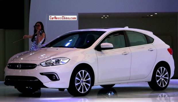 The new Fiat Ottimo. The HB version of the Viaggio. Ottimo means 'Very well' in Italian. Photo by: carnewschina.com