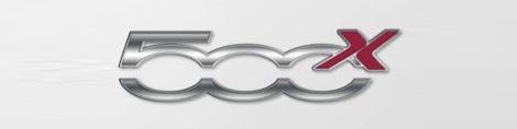 2015 Fiat 500X logo