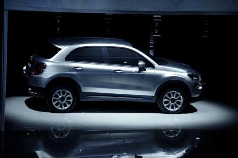 This is the only public appearance of the 500X. It happened in 2012 at the 500L official presentation. The final version isn't expected to change a lot.