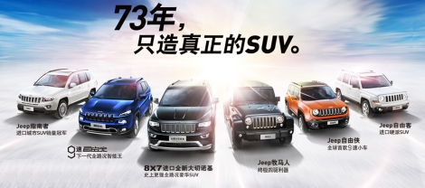 Jeep range China