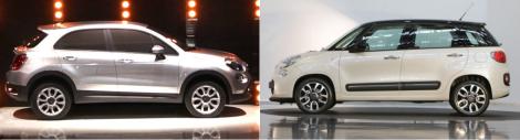 Fiat 500X vs Fiat 500L