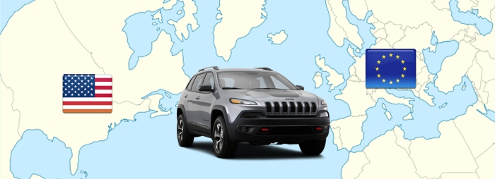 Jeep Cherokee USA and Europe