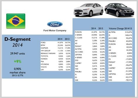 Brazil D Segment