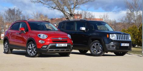 Fiat 500X and Jeep Renegade