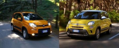 Fiat Panda and 500L